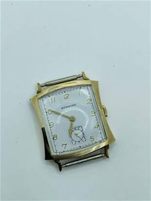 Vintage Longines Wittnauer 10K GF Wrist Watch