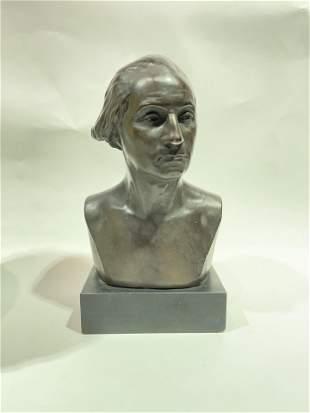 Vintage Bust of President George Washington