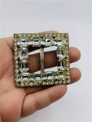 Vintage High Quality Rhinestone Belt Costume Jewelry