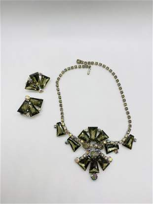 Vintage High Quality Costume Jewelry Necklace SET