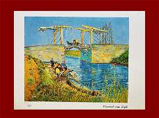 Vincent Van Gogh  Langlois Bridge