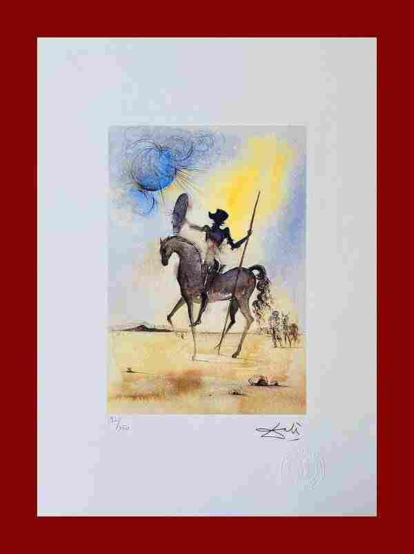 Salvador Dalì - Don Quixote