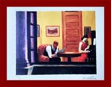 Edward Hopper - Apartment in New York