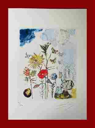 Salvador Dalì - Surrealist Flowers