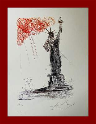 Salvador Dalì - Statue of Liberty