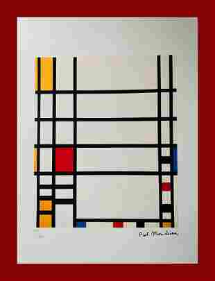 Piet Mondrian - Trafalgar Square Type