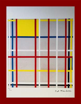 Piet Mondrian - New York City III
