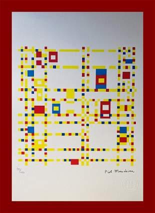 Piet Mondrian - Broadway Boogie-Woogie