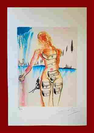 Salvador Dalì - Drawer Woman