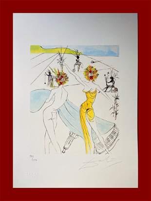 Salvador Dalì - Flower Women with Soft Piano