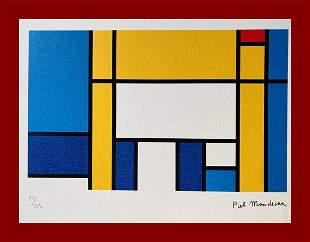 Piet Mondrian - The Bed