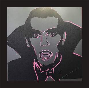 Andy Warhol Myths - Dracula