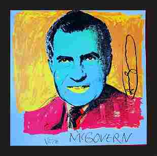 Andy Warhol - Vote McGovern