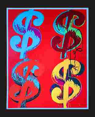 Andy Warhol - Dollars