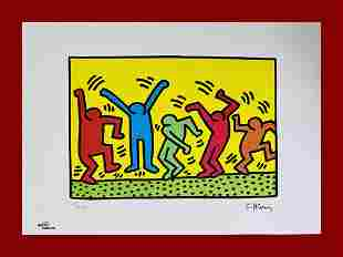 Keith Haring - Untitled (Dance 1987)