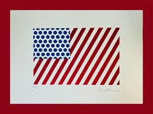 Roy Lichtenstein - Shapes in the Space