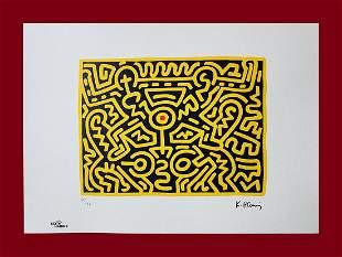 Keith Haring - Growing #4