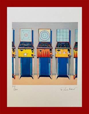 Wayne Thiebaud - Pinball Machines