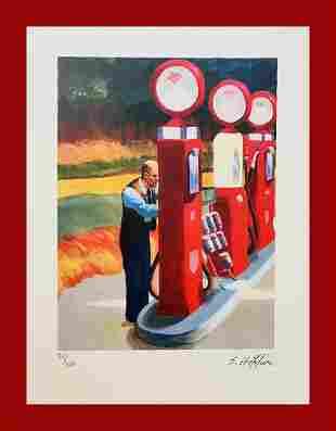 Edward Hopper - Gas Station