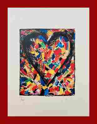 Jim Dine - Confetti Heart