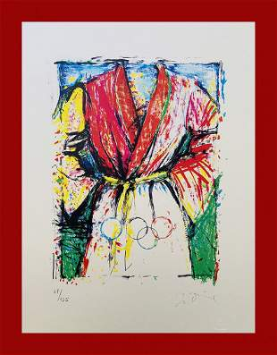 Jim Dine - Olympic Robe