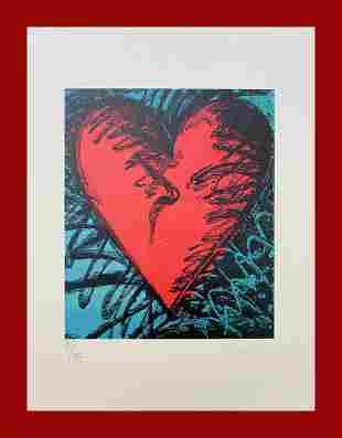 Jim Dine - Heart