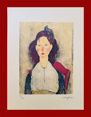 Amedeo Modigliani - Sitting Young Girl