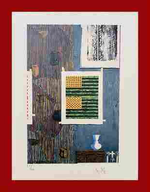 Jasper Johns - Ventrilocuo