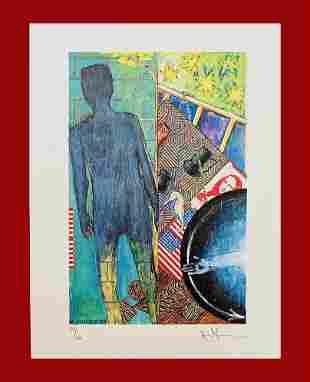 Jasper Johns - Fall