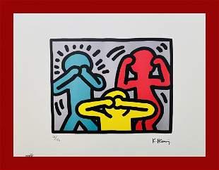 Keith Haring - See No Evil