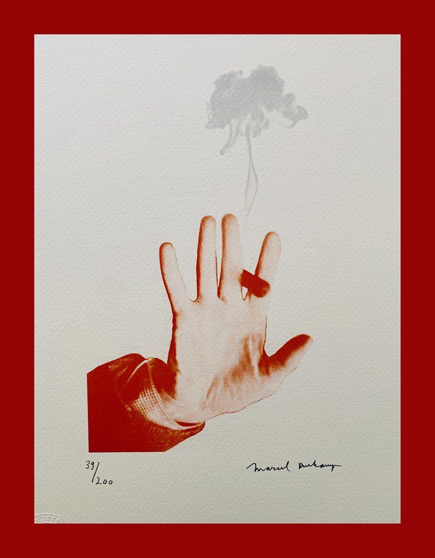 Marcel Duchamp - Hand with a Cigar