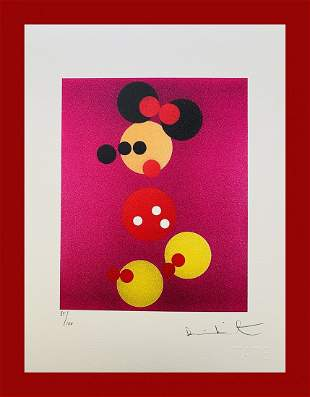 Damien Hirst - Minnie Mouse