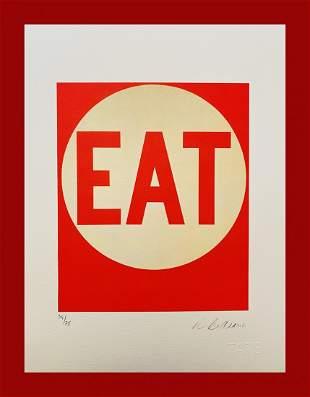 Robert Indiana - Eat