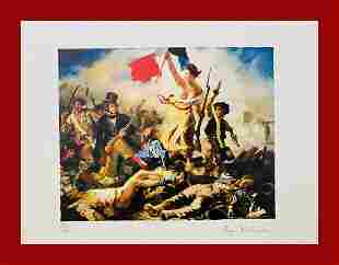 Eugene Delacroix - Freedom guiding the People