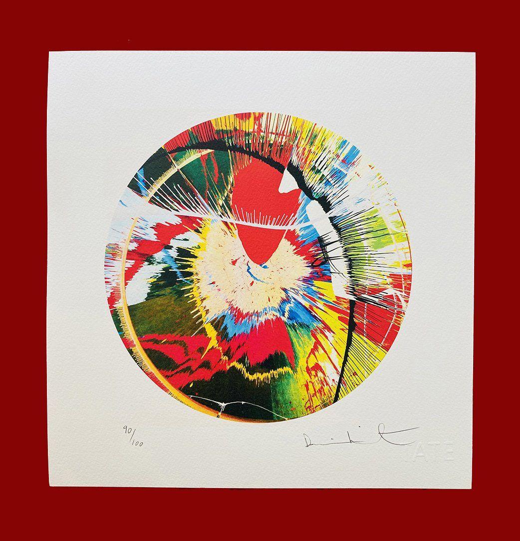 Damien Hirst - Color Spin