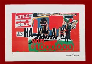 Jean-Michel Basquiat - Win 1.000.000 $