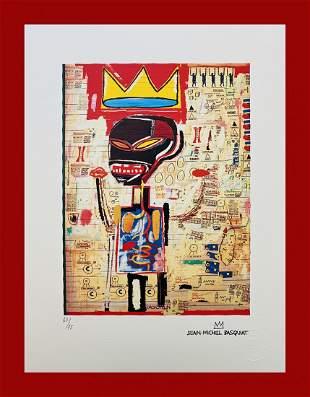 Jean-Michel Basquiat - King