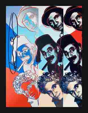 Andy Warhol - Marx Brothers