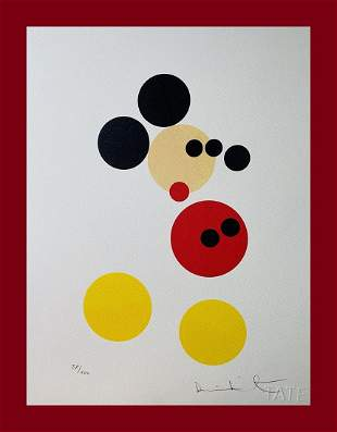 Damien Hirst - Mickey Mouse