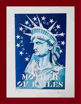 Robert Indiana - Mother of Exiles