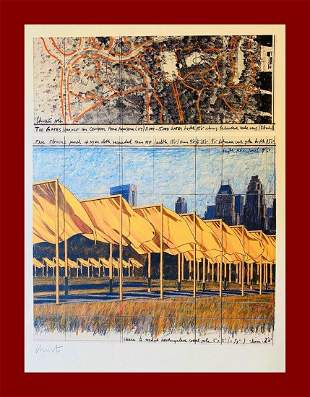 Christo Yavachev - The Gates, Project for NYC