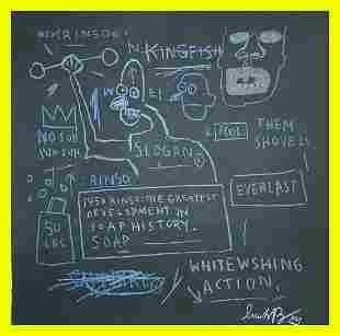 Jean-Michel Basquiat - Rinso