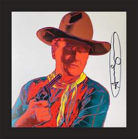 Andy Warhol - John Wayne