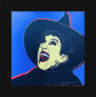 Andy Warhol - The Witch