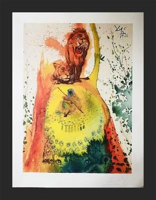 Salvador Dali - The Lion
