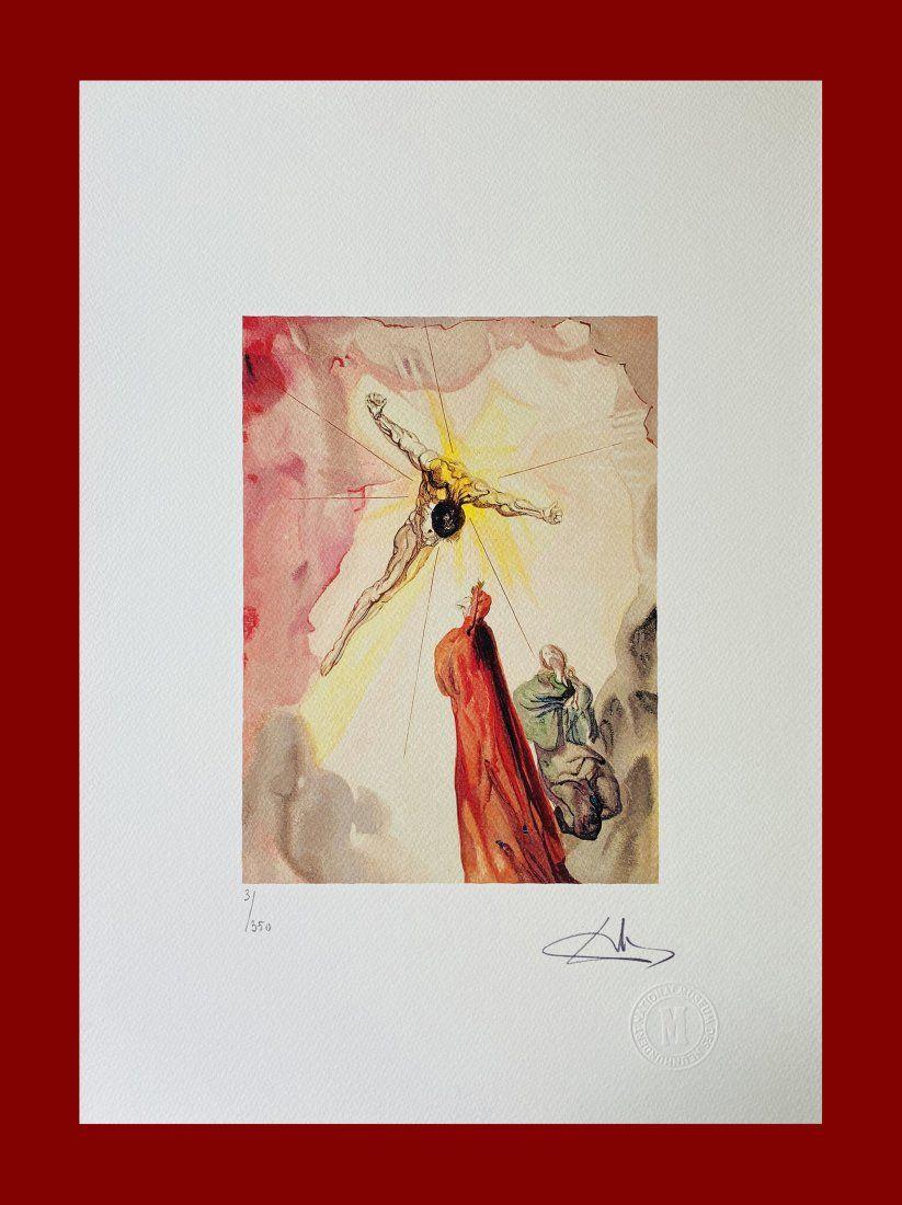 Salvador Dalì - Crucifixion of Jesus Christ