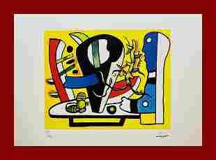 Fernand Leger - The Black Vase