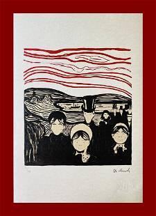 Edvard Munch - Fear