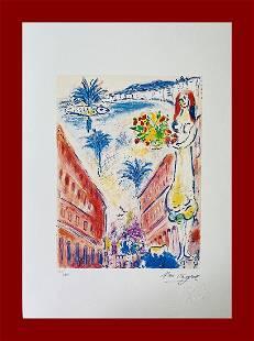 Marc Chagall - Avenue de la Victoire, Nice