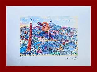 Raoul Dufy - The Heart of the City of Paris
